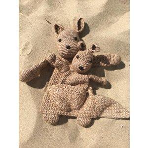 Mes petits Câlins Stuffed animal WALLABIE AND BABY
