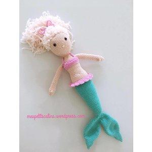 Mes petits Câlins cuddle toy mermaid
