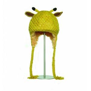 Knitwits Dierenmuts CROCHET de giraf