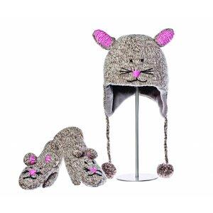 Knitwits Dierenmuts MIMI de muis