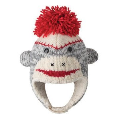Knitwits Dierenmuts CUTE SOCK aap