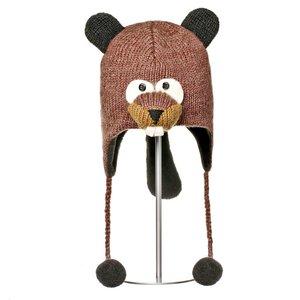Knitwits Animal hat  BARKLEY de beaver