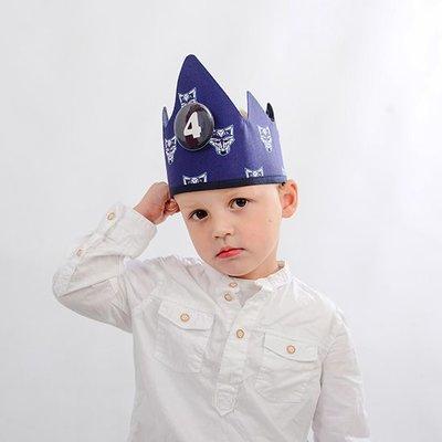 YEZ-Handmade  Birthday crown AIDEN