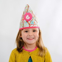 Birthday crown with name