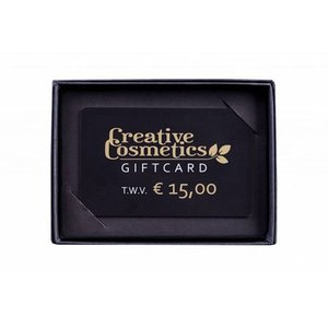 Creative Cosmetics Gift card €15