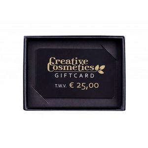Creative Cosmetics Gift card €25