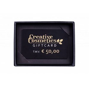 Creative Cosmetics Gift card €50