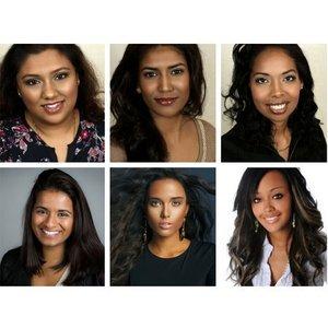 Creative Cosmetics Foundation testers for exotic/dark skin