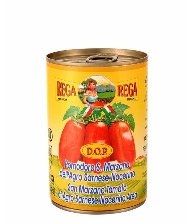 Gepelde San Marzano tomaten D.O.P.  400 gr.