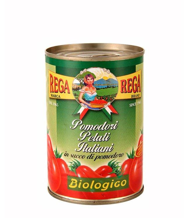 Gepelde tomaten 24 x 400 gr.