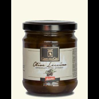 Leccino olijven in salamoia