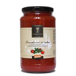 Cherrytomaten in tomatensaus