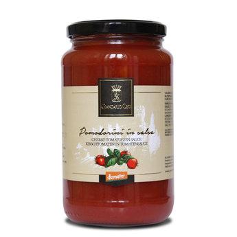 Cherrytomaten in  saus 418 ml.