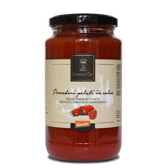 Gepelde tomaten in tomatensaus 418 ml