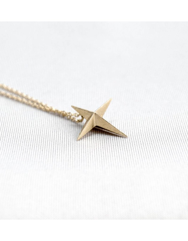 Jenny From The Block Star Necklace