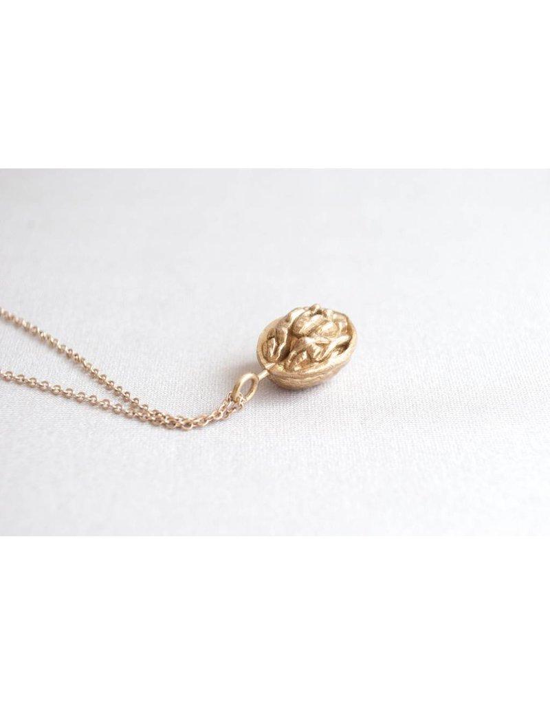 Jenny From The Block Walnut Necklace