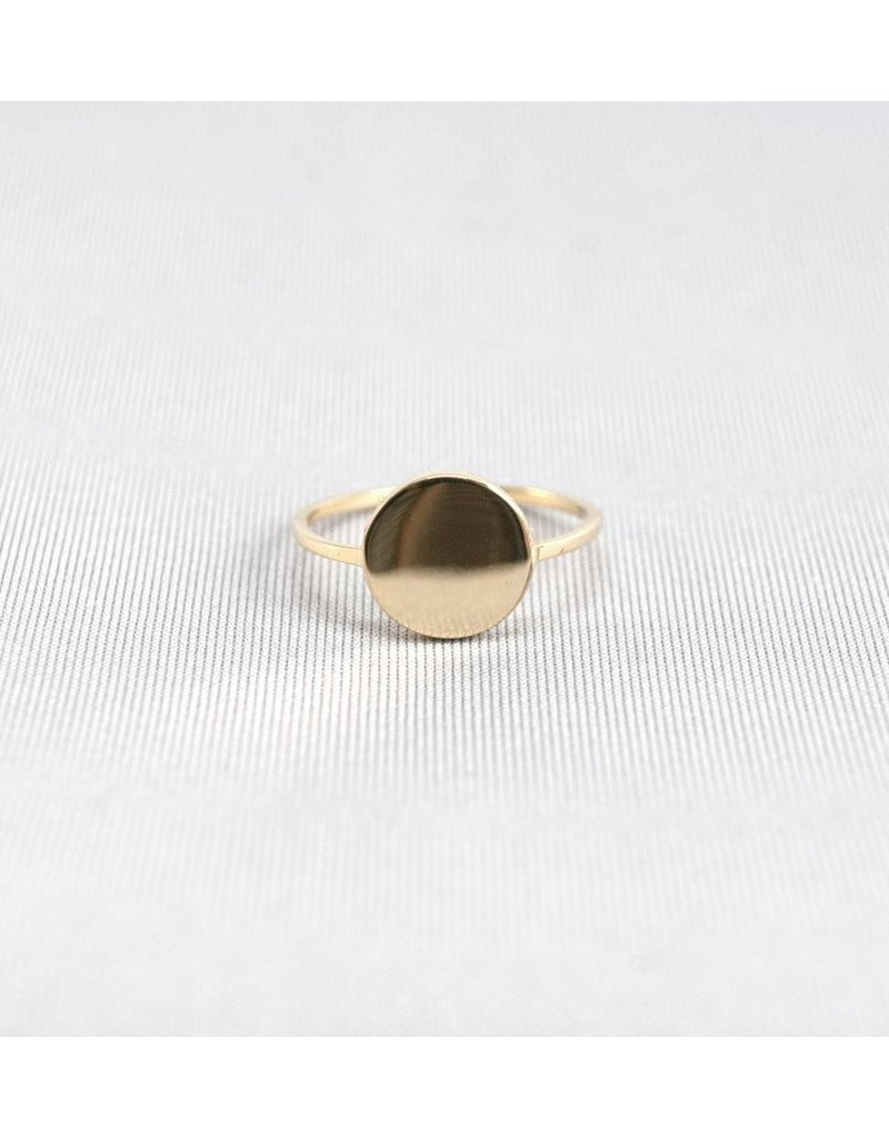 Jenny From The Block Round Plate Ring