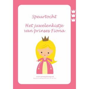 Speurtocht Prinsessen, 5 t/m 7 jr