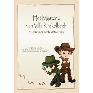 Speurtocht Detectives, 7 t/m 10 jr
