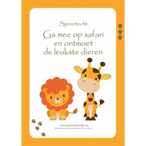Speurtocht Safari