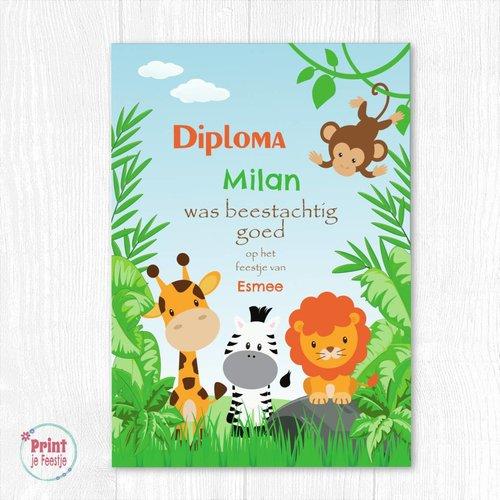 Safari Diploma