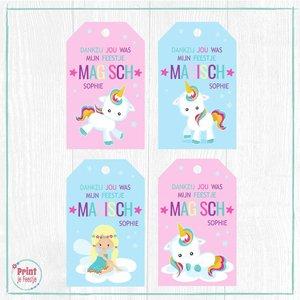 Eenhoorn Labels, Unicorn Labels