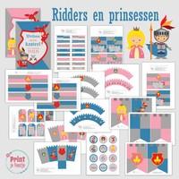 Feestpakket Ridders en Prinsessen DIY