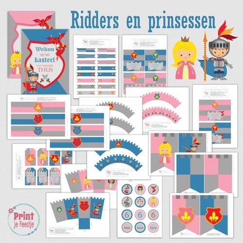 Ridders en Prinsessen Feestpakket