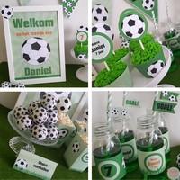 Uitnodiging Voetbalfeestje