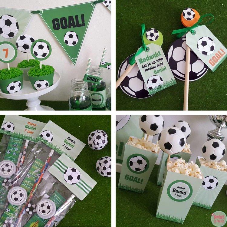 Feestpakket Voetbal DIY