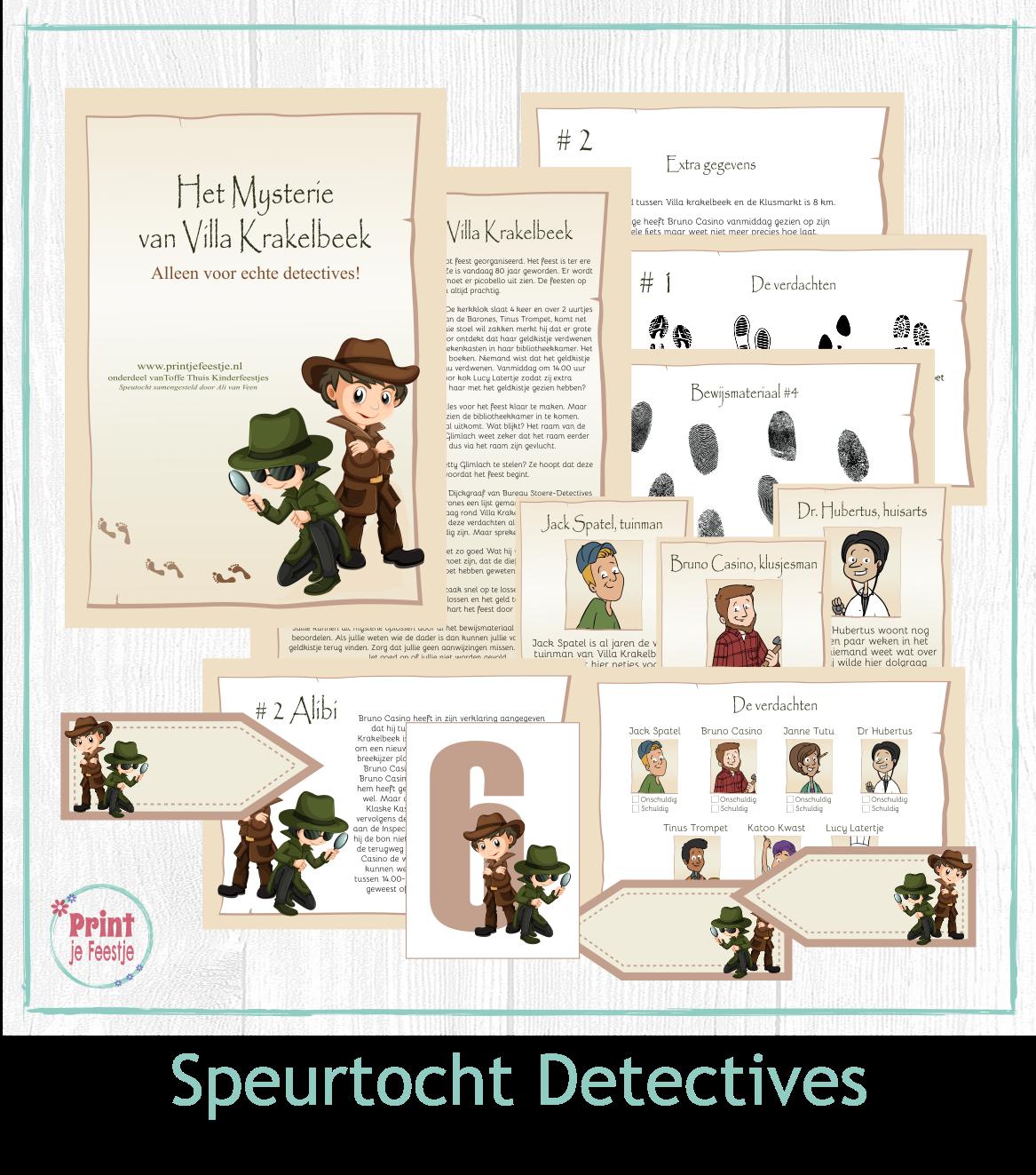 detective speurtocht