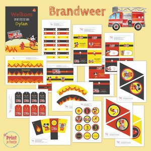 Feestpakket Brandweer DIY