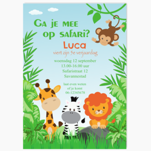 Speurtocht Safari
