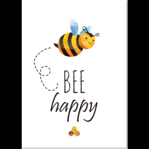 Poster Bee Happy