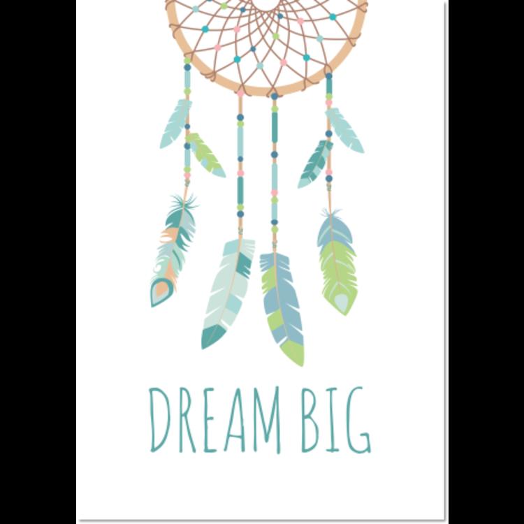 Poster Dromenvanger Dream Big