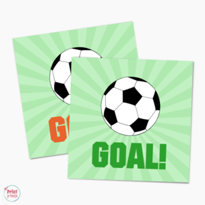Label Voetbal Goal
