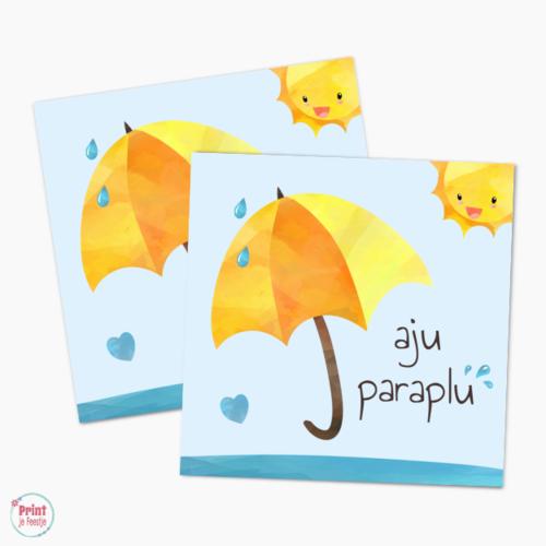Label Aju Paraplu