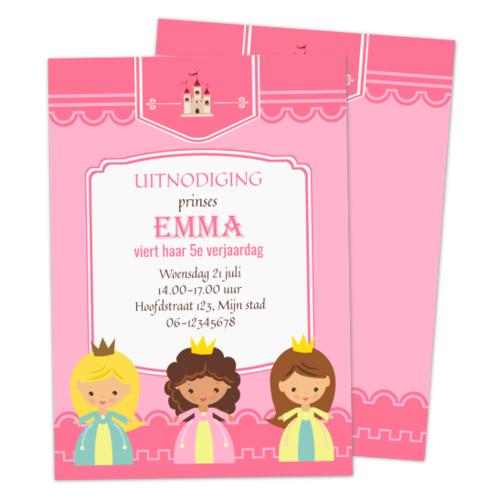 Uitnodiging Prinsessen