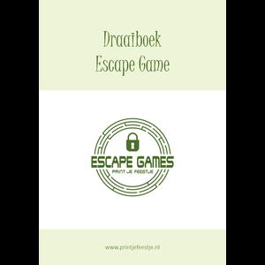Escape Room Draaiboek