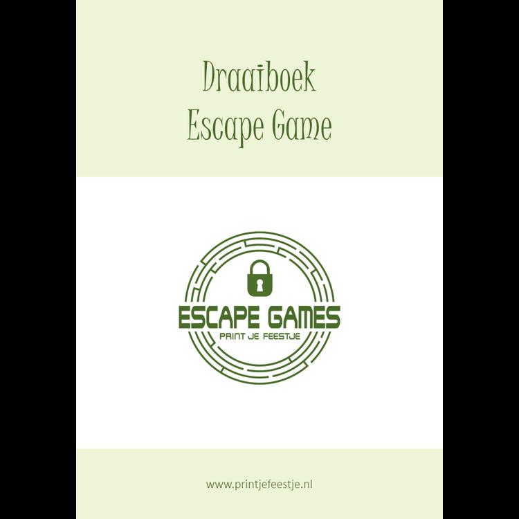 Escape Room Draaiboek Kinderfeestje Thuis