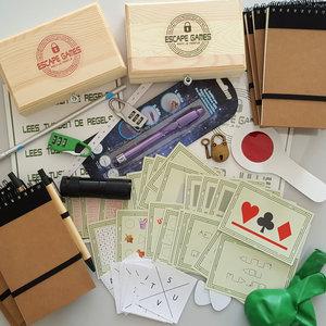 Clue-Pakket behorende bij Escape Room Draaiboek