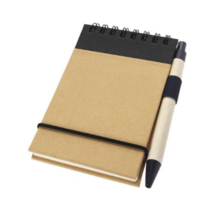 Notitieboekje met pen