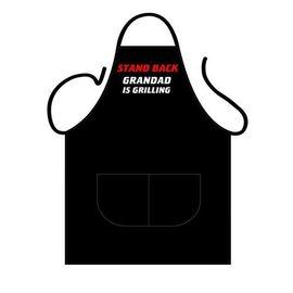 Barbecue schort Grandad is grilling