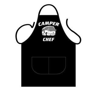 Barbecue schort Camper chef