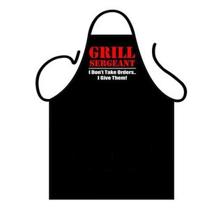 Barbecue schort Grill Sergeant