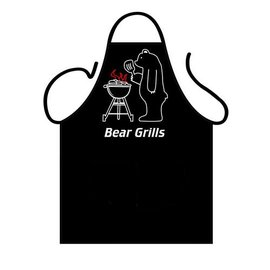 Barbecue schort Bear Grills