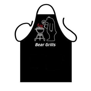 Barbecue schort Bear Grills