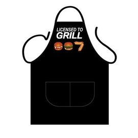 Barbecue schort License to grill  007