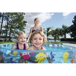 Bestway Zwembad rond Fill 'n Fun 122x25 cm