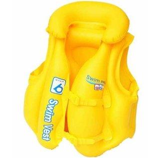 Bestway Zwemvest geel